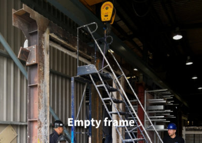 1. Fire Test Empty frame Gerco-Fas