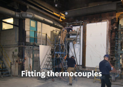 3a Fitting thermocouples Gerco-Fas