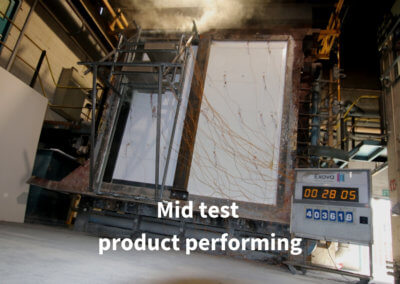 6. Live test. Mid test product performing. Gerco-Fas