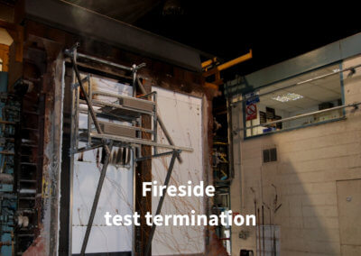 7b. Fireside test termination Gerco-Fas