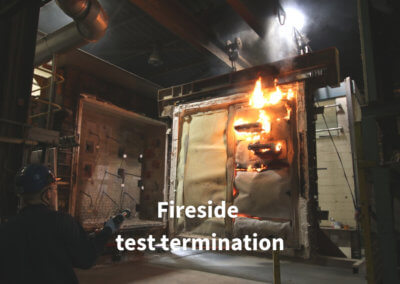 7c. Fireside test termination Gerco-Fas