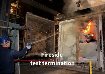 7d. Fireside test termination Gerco-Fas
