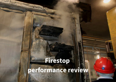 8a. Firestop performance review Gerco-Fas