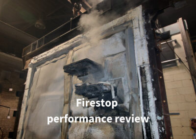 8b. Firestop performance review Gerco-Fas
